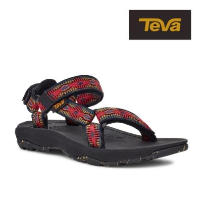【TEVA】原廠貨 中/大童 Hurricane XLT2 機能運動涼鞋/雨鞋/水鞋(峽谷紅-TV1019390YCYR/TV1019390CCYR)