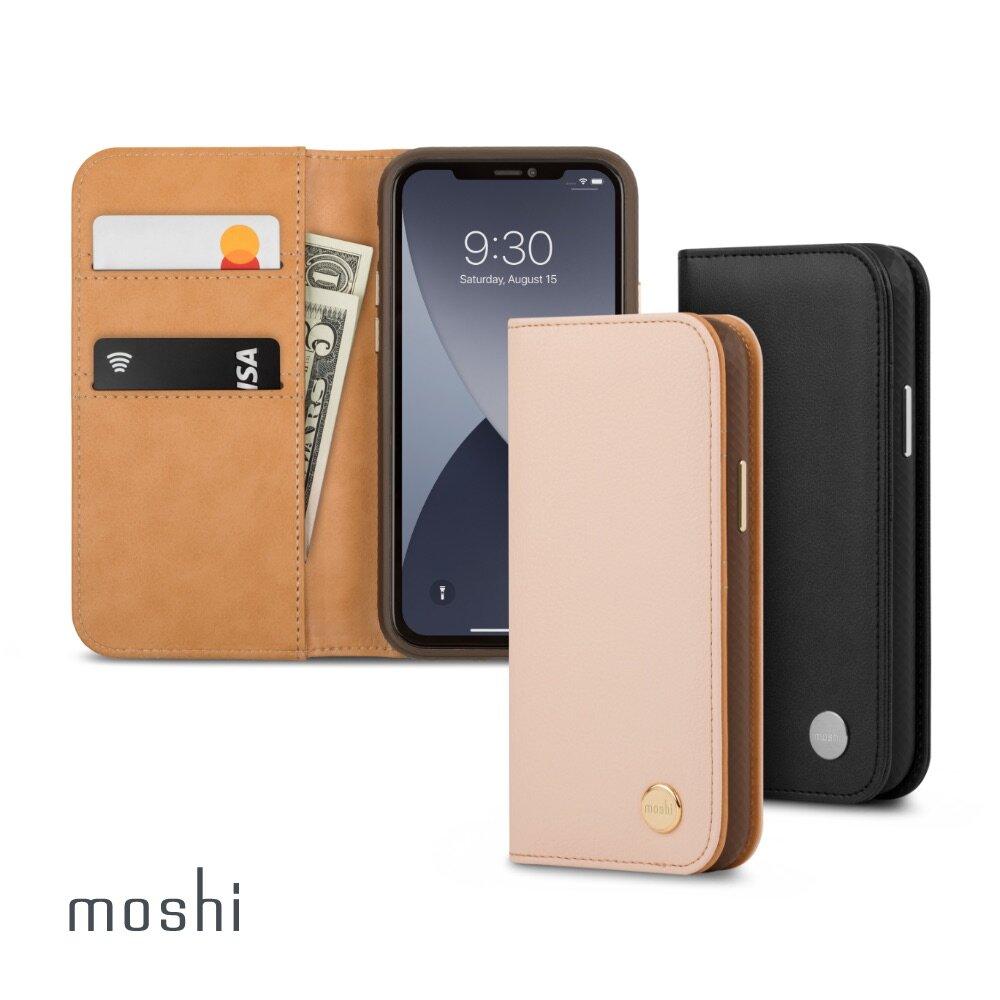 【快速到貨】Moshi Overture for iPhone 12 Pro Max 磁吸可拆式卡夾型皮套