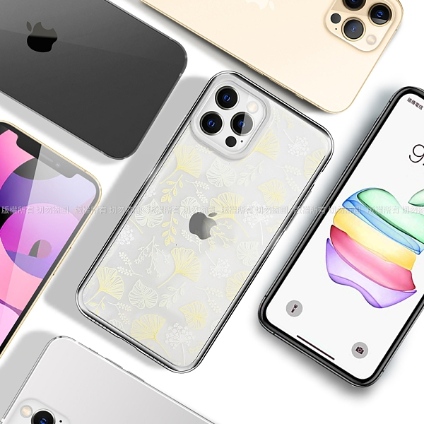 MOOTUN for iPhone 12 / 12 Pro / 12 mini / 12 Pro Max 防護晶透保護殼- 秋日樹葉/夏日樹葉 請選款式與型號