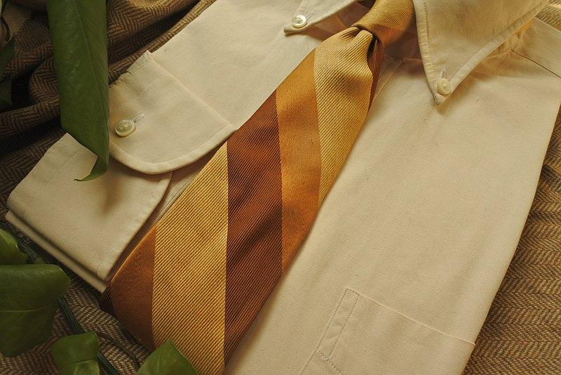 日本製拉夫勞倫RALPH LAUREN 全真絲Vintage古董古著領帶