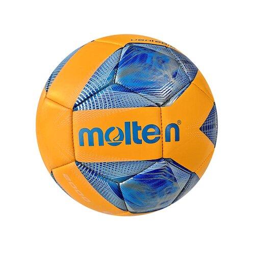 Molten Football #3[F3A2000-OB] 足球 3號 幼兒 學齡前 亮面 機縫 19cm 橘藍