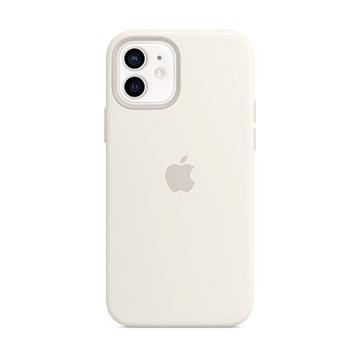 iPhone 12 mini MagSafe 矽膠保護殼-白色(MHKV3FE/A)