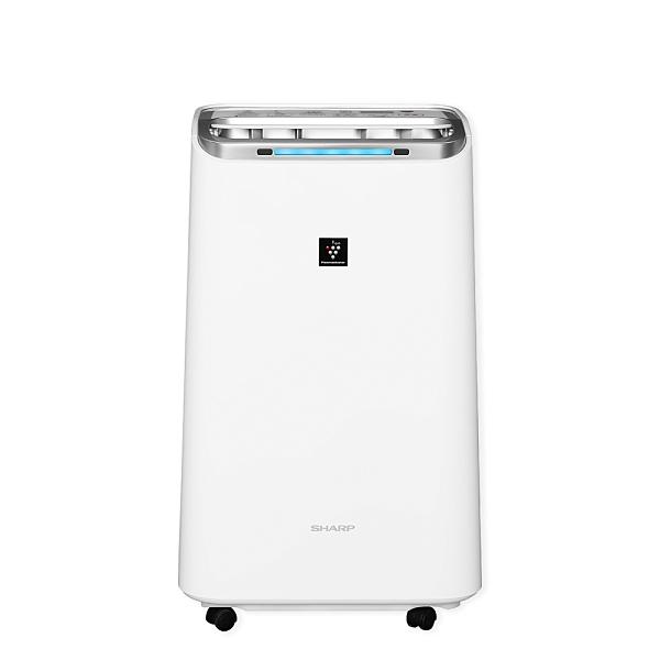 【SHARP 夏普】10.5L 自動除菌離子 空氣清淨除濕機 DW-L10FT-W