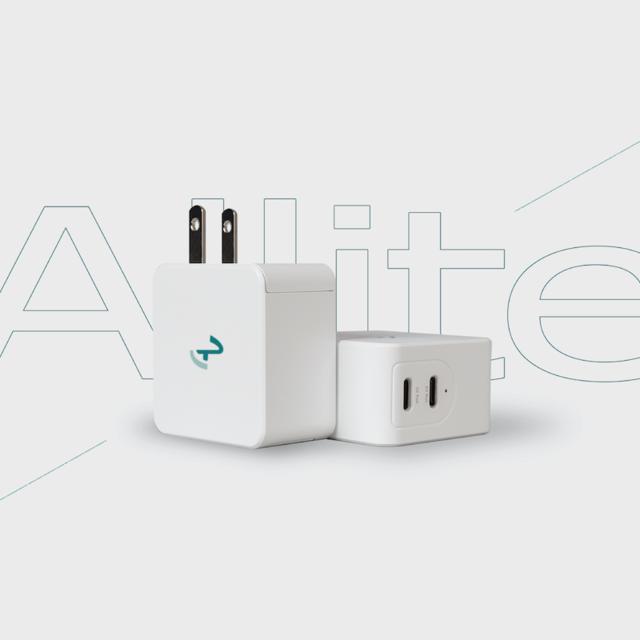 Allite 氮化鎵GaN USB-C雙孔快充充電器