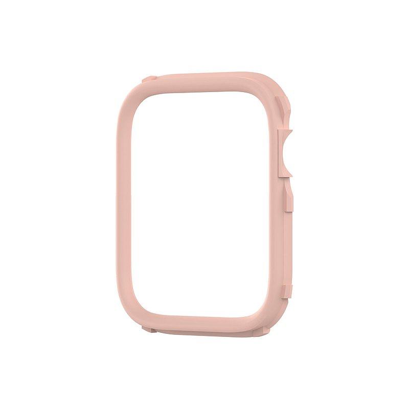 Apple Watch 6/SE/5/4/3/2/1代Crashguard NX邊框殼飾條-櫻花粉