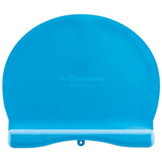 【領券折$30】小禮堂 哆啦A夢 可收納造型防漏餐墊 矽膠餐墊 防滑餐墊 兒童餐墊 (藍 大臉)