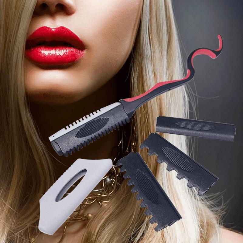 金德恩美髮專用款DIY層次打薄刀組GS00157(2 組)