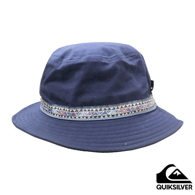 【QUIKSILVER】ALOOF BUCKET 帽子 海軍藍