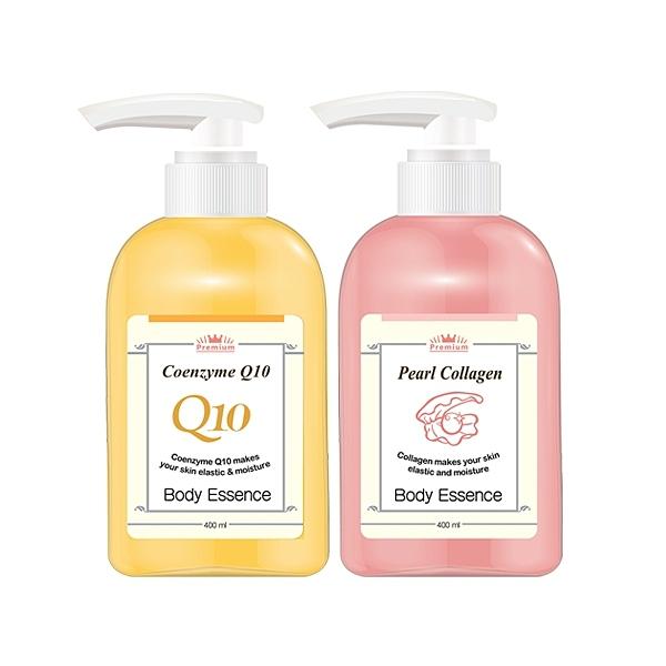 韓國 Beloved&Co Q10高保濕美肌彈力/珍珠膠原嫩白身體乳液(400ml)【小三美日】
