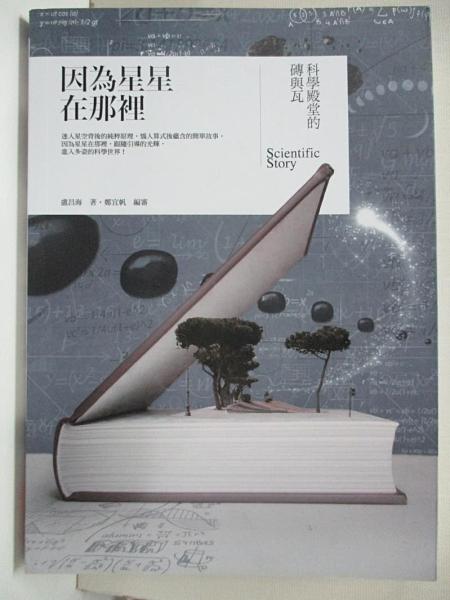 【書寶二手書T2/科學_H5X】因為星星在那裡:科學殿堂的磚與瓦_盧昌海