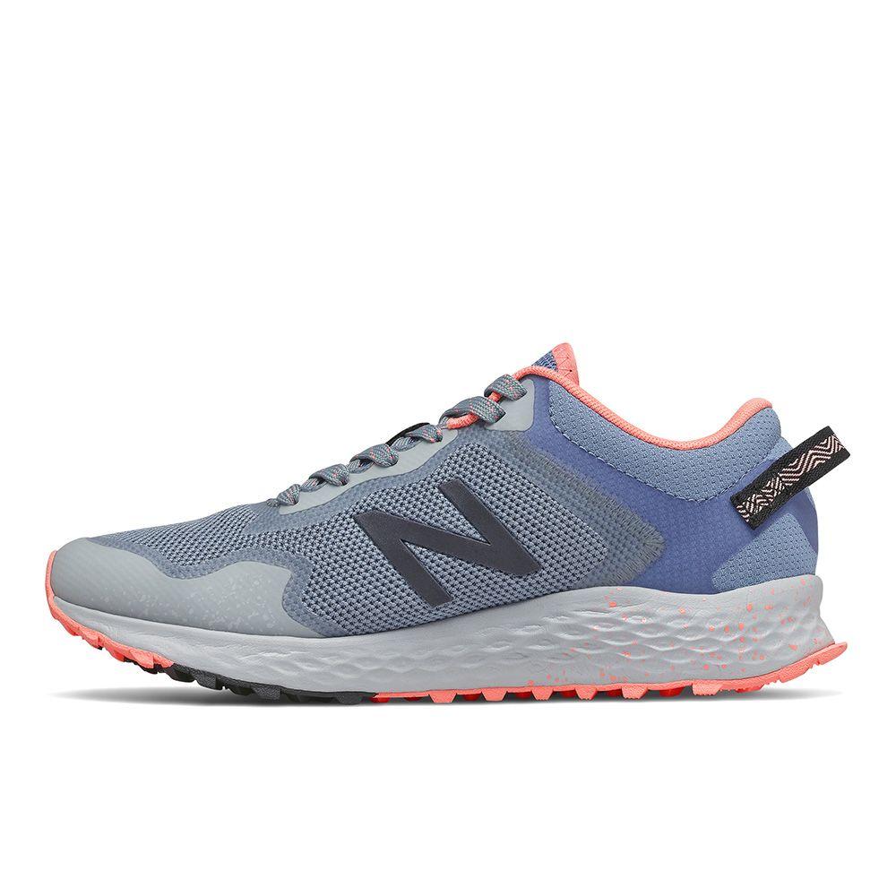 New Balance D 女鞋 慢跑 緩震 網布 輕量 灰藍【運動世界】WTARISCG