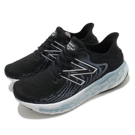 New Balance 慢跑鞋 1080v11 Wide 寬楦 運動 女鞋 紐巴倫 輕量 透氣 舒適 路跑 避震 黑 藍 W1080B11D W1080B11D