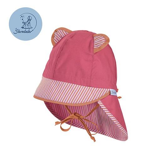 德國STERNTALER 抗UV護頸遮陽童帽-桃耳朵(43-53cm)C-1501661-726