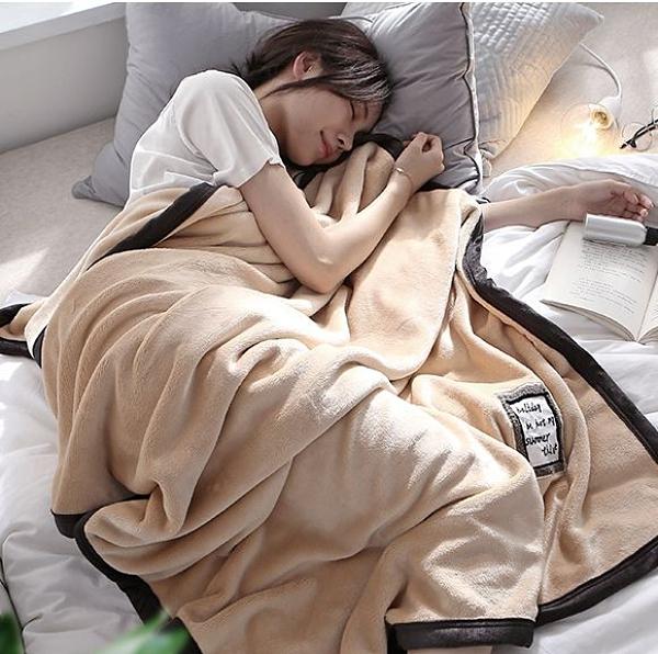 毛毯 保暖法蘭絨蓋毯子秋冬季加厚午睡單人學生空調毛毯被子沙發辦公室