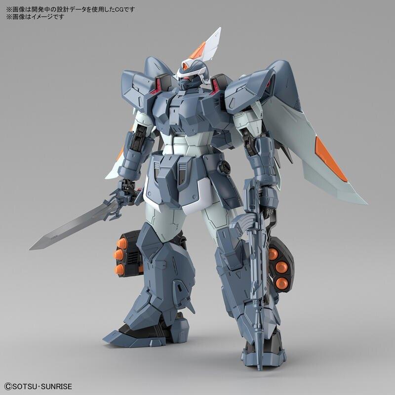 【鋼普拉】4月預購 BANDAI 萬代 MG 1/100 基恩 Mobile Ginn 機動戰士鋼彈 組裝模型