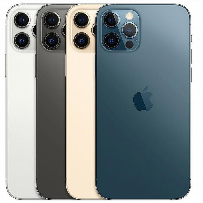 Apple iPhone 12 Pro Max 128G 6.7吋 5G 智慧手機 贈玻璃保護貼+手機支架太平洋藍