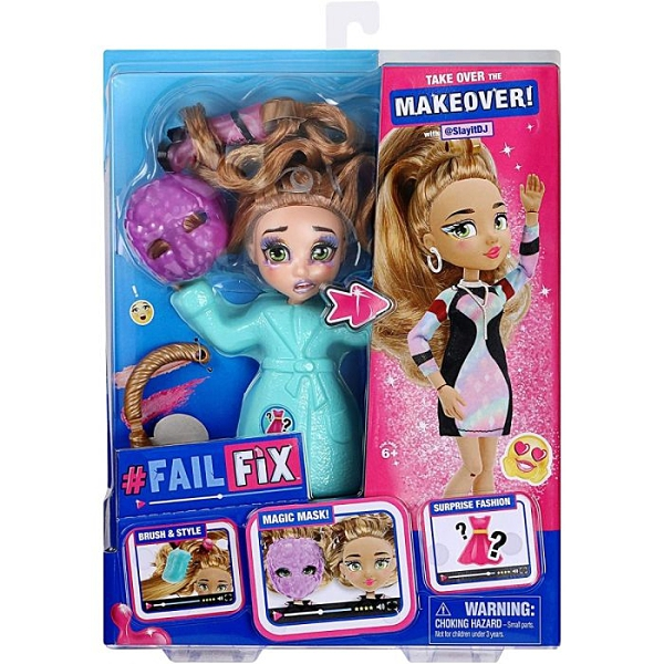 《 FailFix 》變身娃娃 - SlayItDJ / JOYBUS玩具百貨
