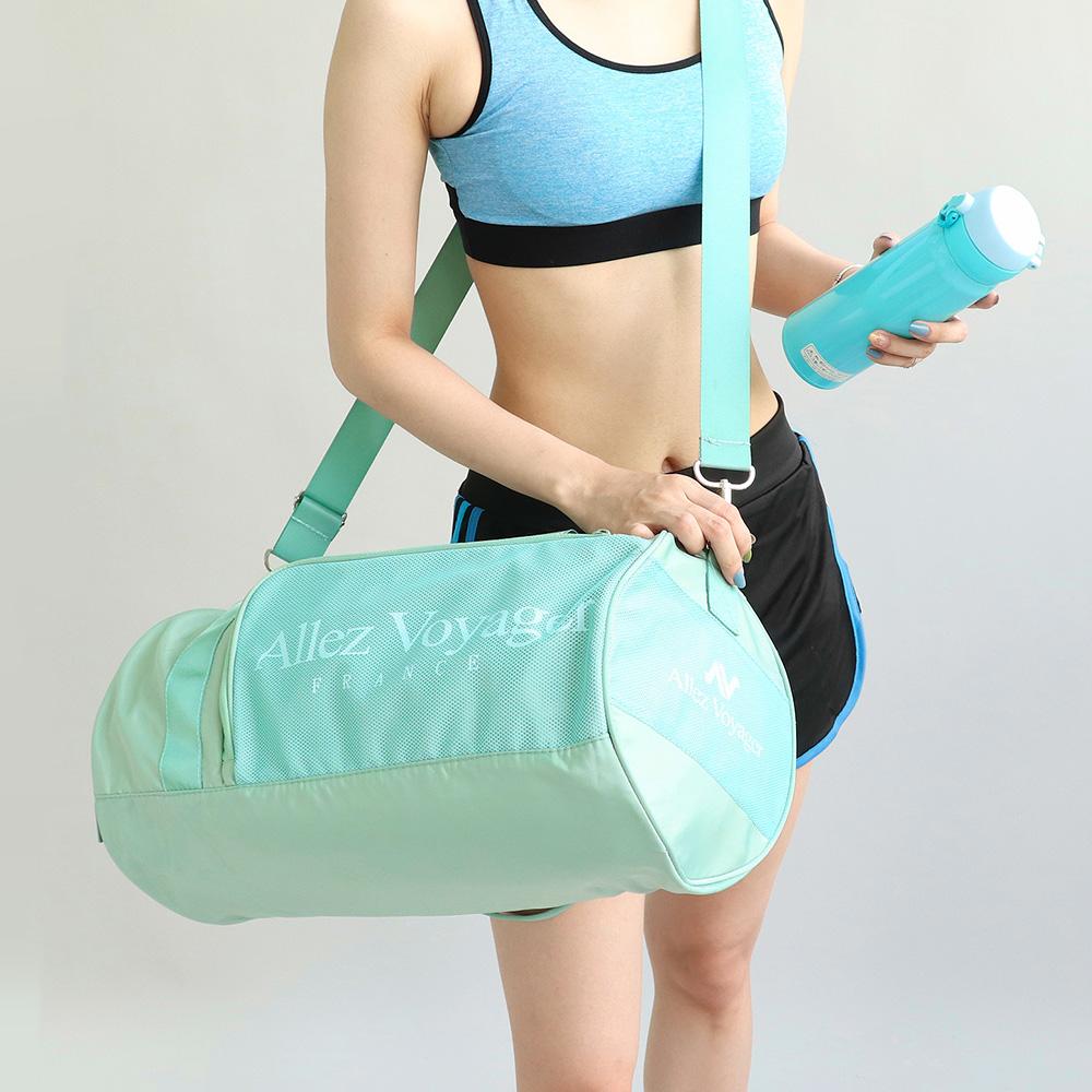 【奧莉薇閣】 旅行袋 運動包 行李收納袋 側背包 斜背包*圓筒大容量