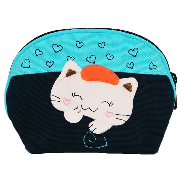 Melecat咪樂貓貓咪小畫家化妝品小物收納整理包【HOZ-990】