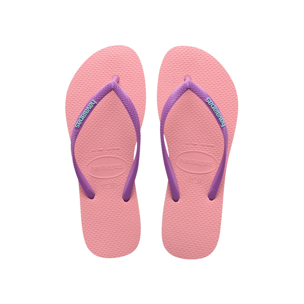 HAVAIANAS 哈瓦仕 SLIM LOGO POP UP 女性款