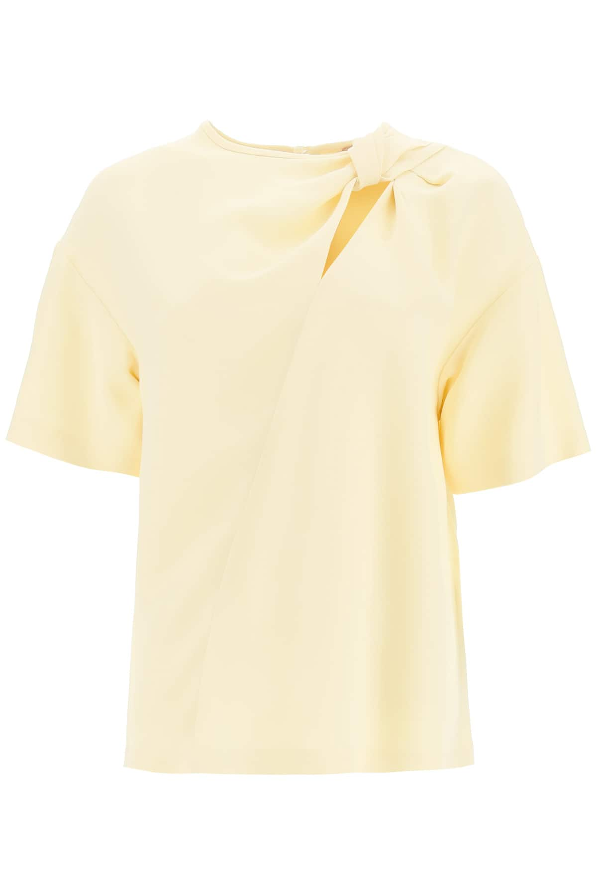 N.21 BLOUSE WITH KNOT 44 Beige