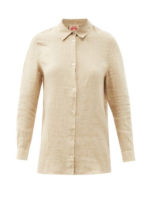 Le Sirenuse, Positano - Sparrow Linen Shirt - Womens - Beige