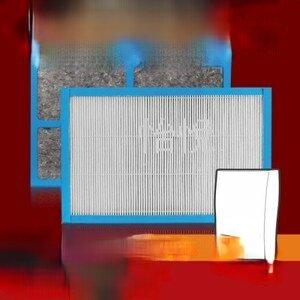 【怡悅HEPA濾網】適用3m 淨呼吸 slimax (與CHIMSPD-188F同規格) 空氣清淨機-單片