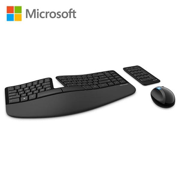 【Microsoft 微軟】Sculpt 人體工學鍵鼠組