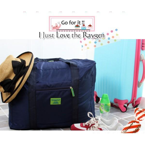大容量旅行摺疊手提式行李收納包 手提包