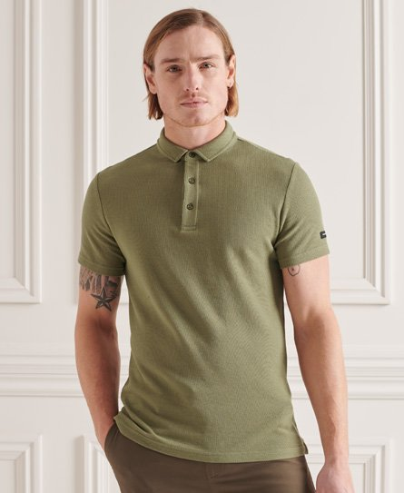 Superdry Textured Jersey Polo Shirt