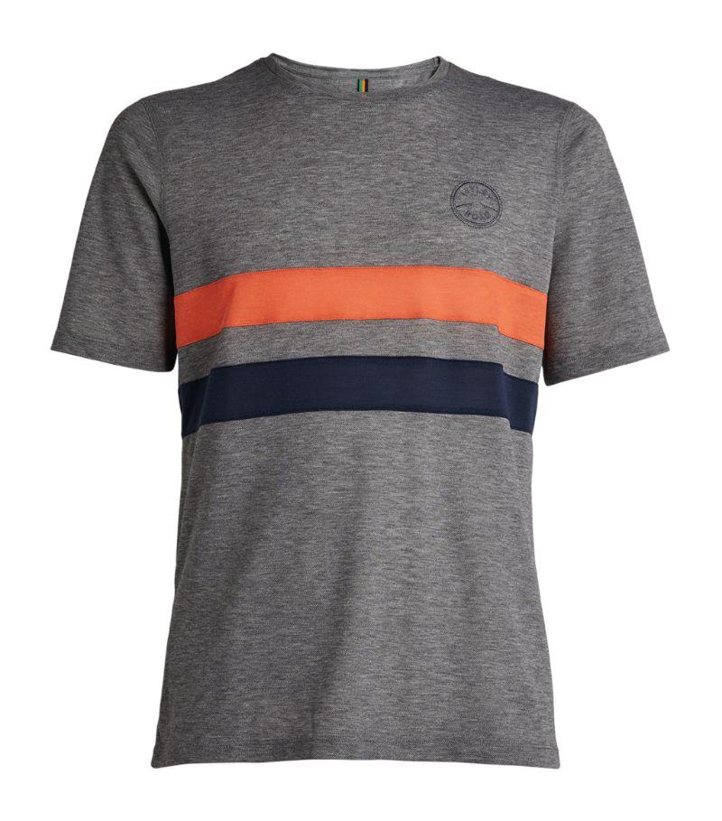 Iffley Road Striped Drirelease T-Shirt