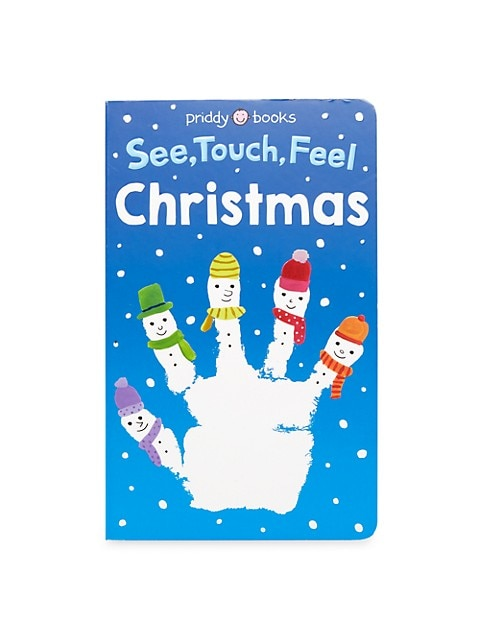 See, Touch, Feel: Christmas Board Book