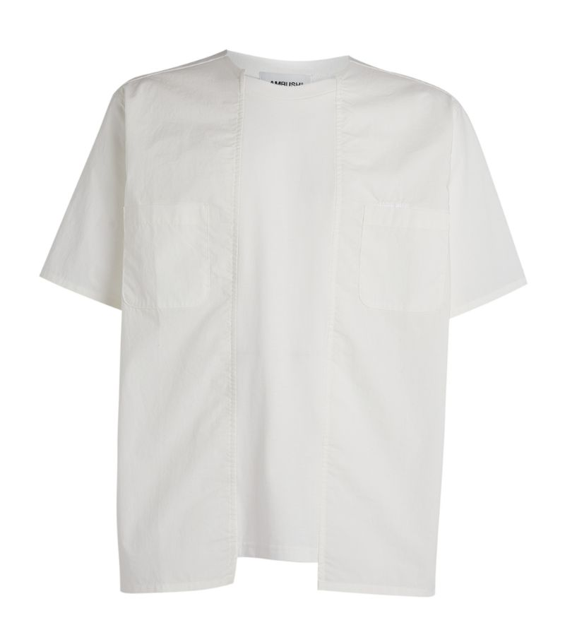 Ambush Asymmetric Cotton T-Shirt
