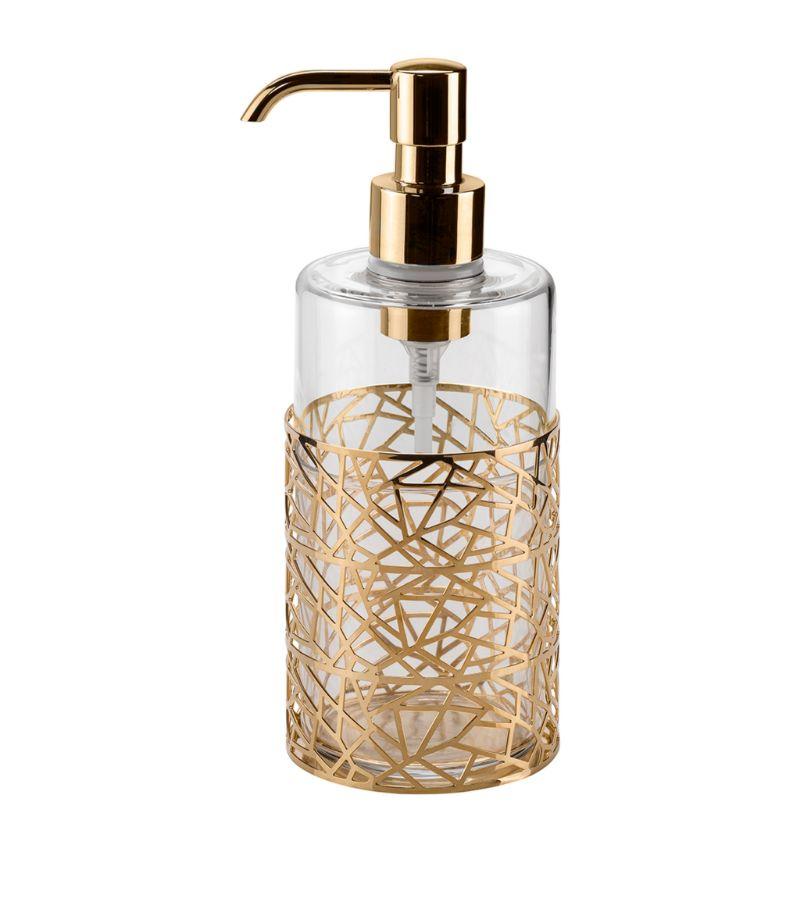 Villari Hiroito Gold Soap Dispenser