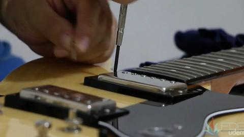 Mantenimiento y octavacin para guitarras elctricas