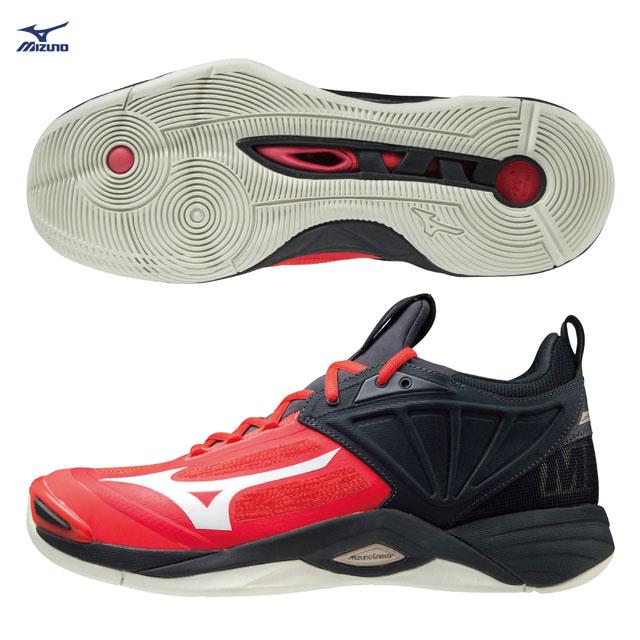 【美津濃MIZUNO】WAVE MOMENTUM 2 男款排球鞋 V1GA211263