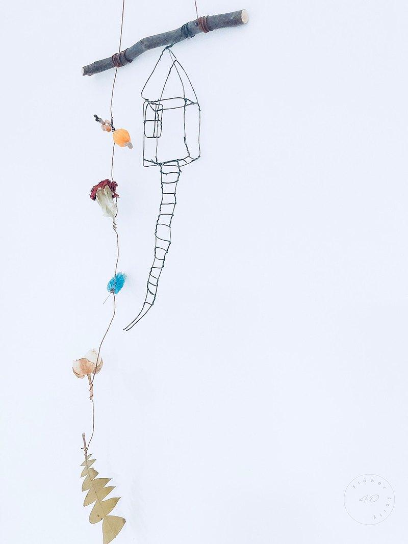 HOME&FLOWER童趣鄉村佈置陳列吊飾掛飾