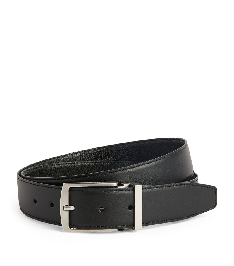Giorgio Armani Reversible Leather Belt