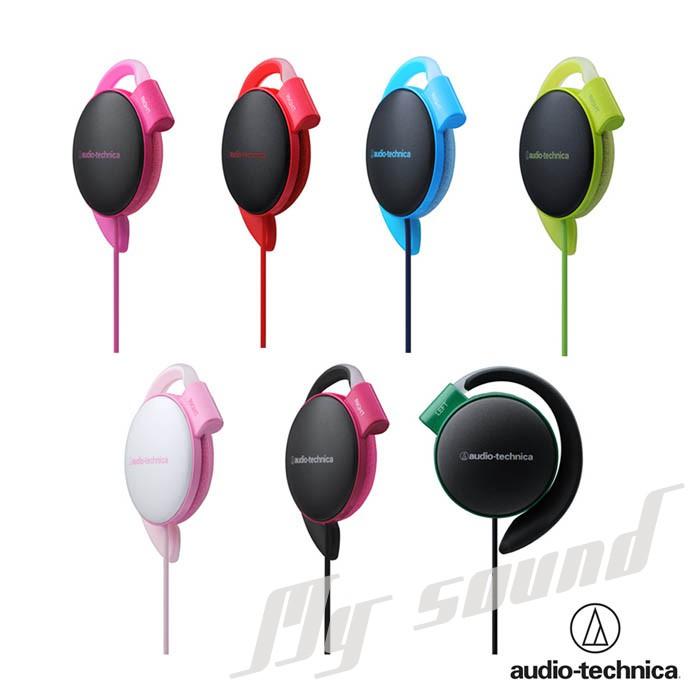 鐵三角 ATH-EQ500 輕量薄型軟質耳掛式耳機(附捲線器) 廠商直送 現貨