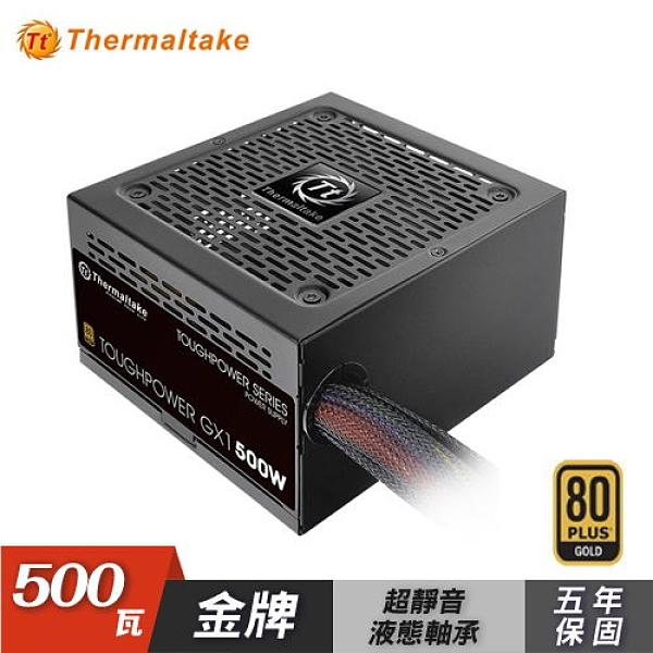 【Thermaltake 曜越】 Toughpower GX1 500W 金牌 電源供應器