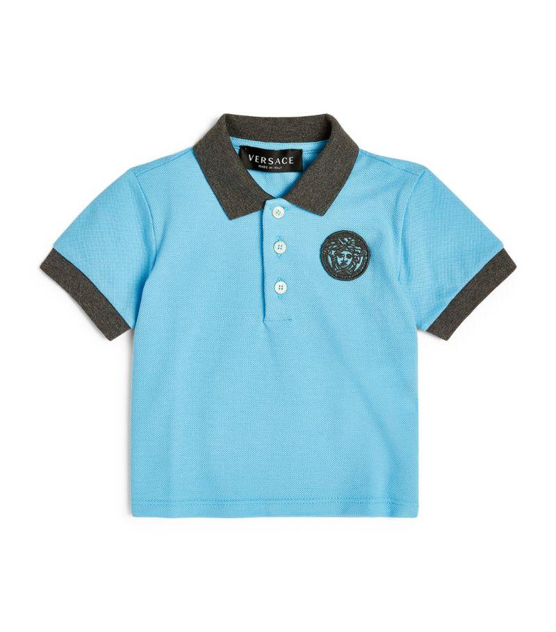 Versace Kids Medusa Logo Polo Shirt (3-36 Months)