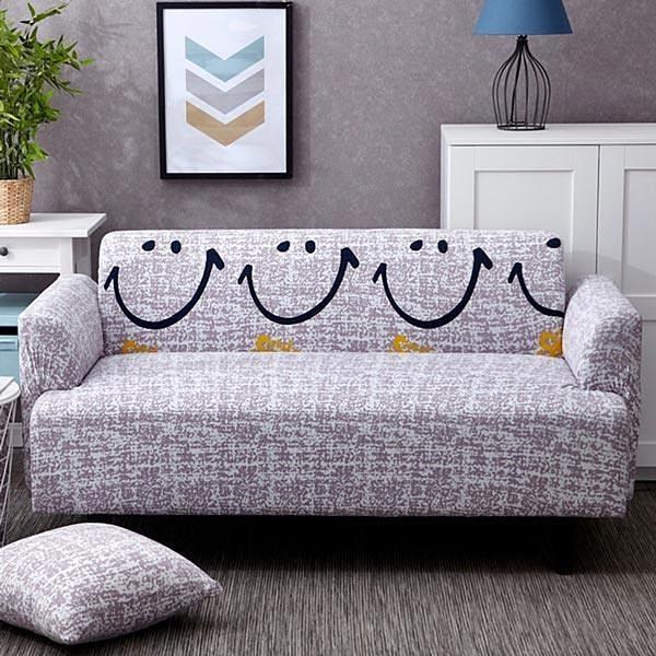 【南紡購物中心】【生活家飾】開心果彈性沙發套-2人