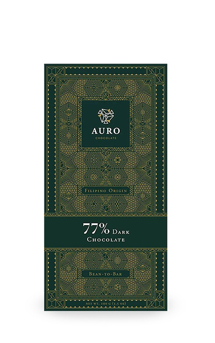 AURO 77% 黑巧克力 100g