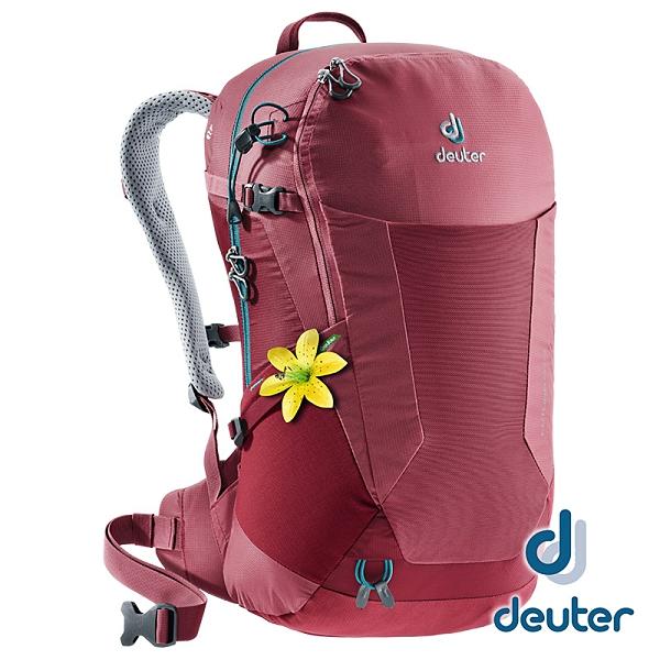 【德國 deuter】 FUTURA透氣網架 背包 22SL『莓紅』3400018 登山.露營.休閒.旅遊.戶外.後背包.手提包