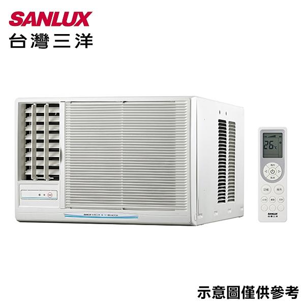 【SANLUX三洋】3-5坪窗型左吹定頻冷氣SA-L22FEA