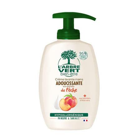 【法國 綠活維】中性洗手乳 蜜桃香 - 300ML