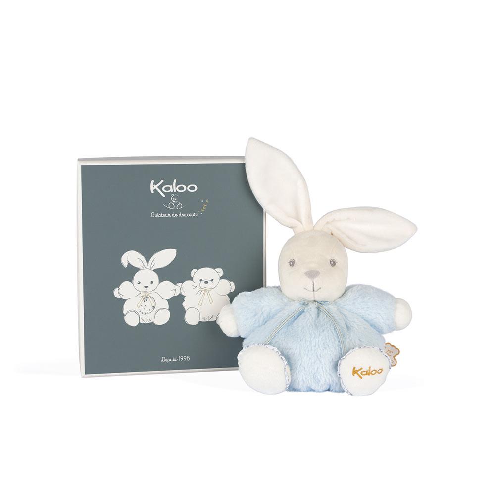 Kaloo Perle 小花兔兔玩偶(小)-粉藍