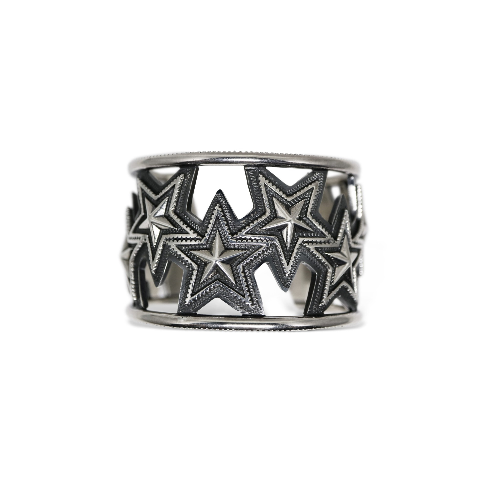 CUT OUT OPPOSING STAR CUFF   [USD $3770]