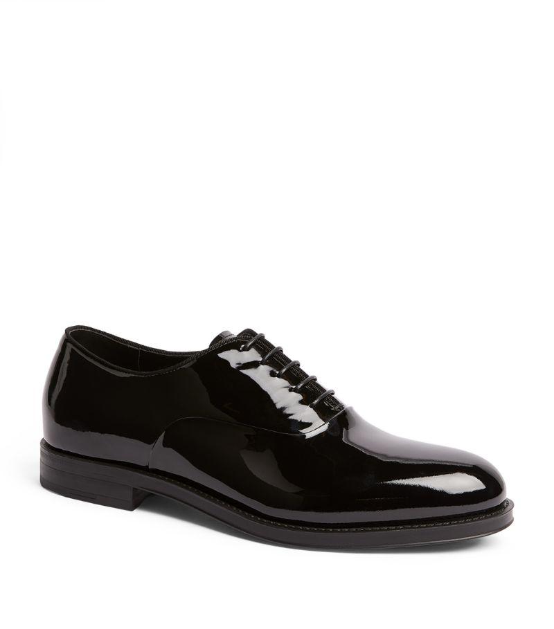 Giorgio Armani Patent Leather Derby Shoes