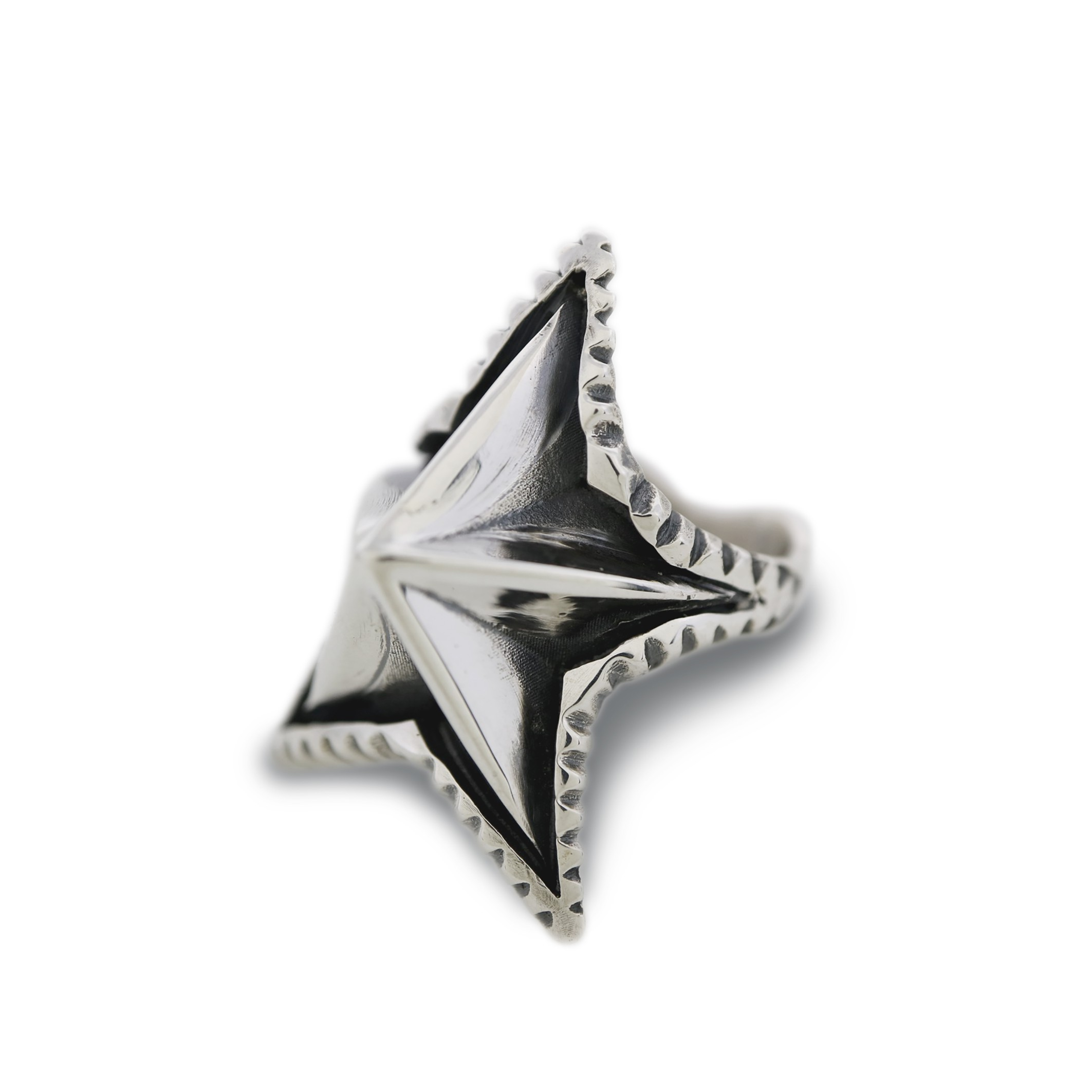 SPIKE STAR RING [USD $1070]